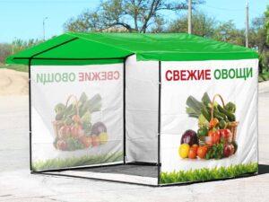 Палатки с печатью
